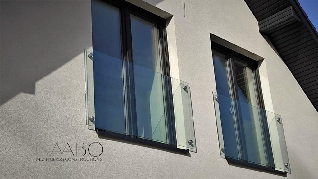 Portfenetry balkony francuskie Naabo